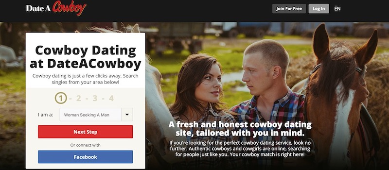 dateacowboy homepage